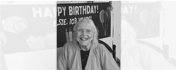 Elsie Ada (Ferguson) Blomgren 1916-2020
