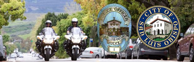 San Luis Obispo Police Department Conducting DUI Patrols